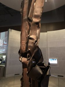Steel from the Twin Towers