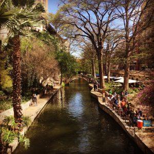 The Riverwalk in Texas