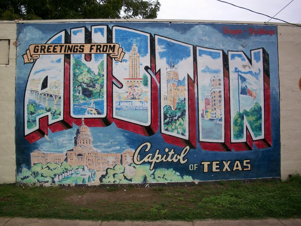 austin, texas sign