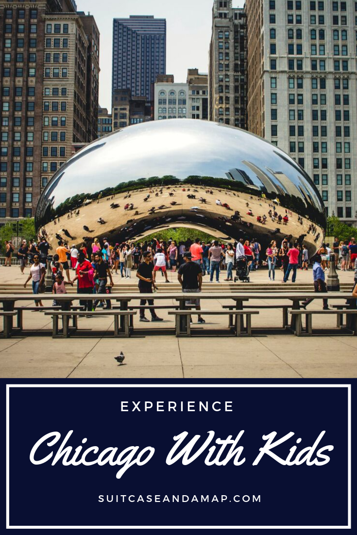 Ready to visit Chicago?! We have a sure fire guide to visiting Chicago with Kids to ensure you have a great time! #chicago #travelwithkids #chicagowithkids