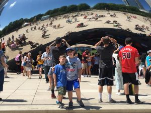 "The boys at ""The Bean"""