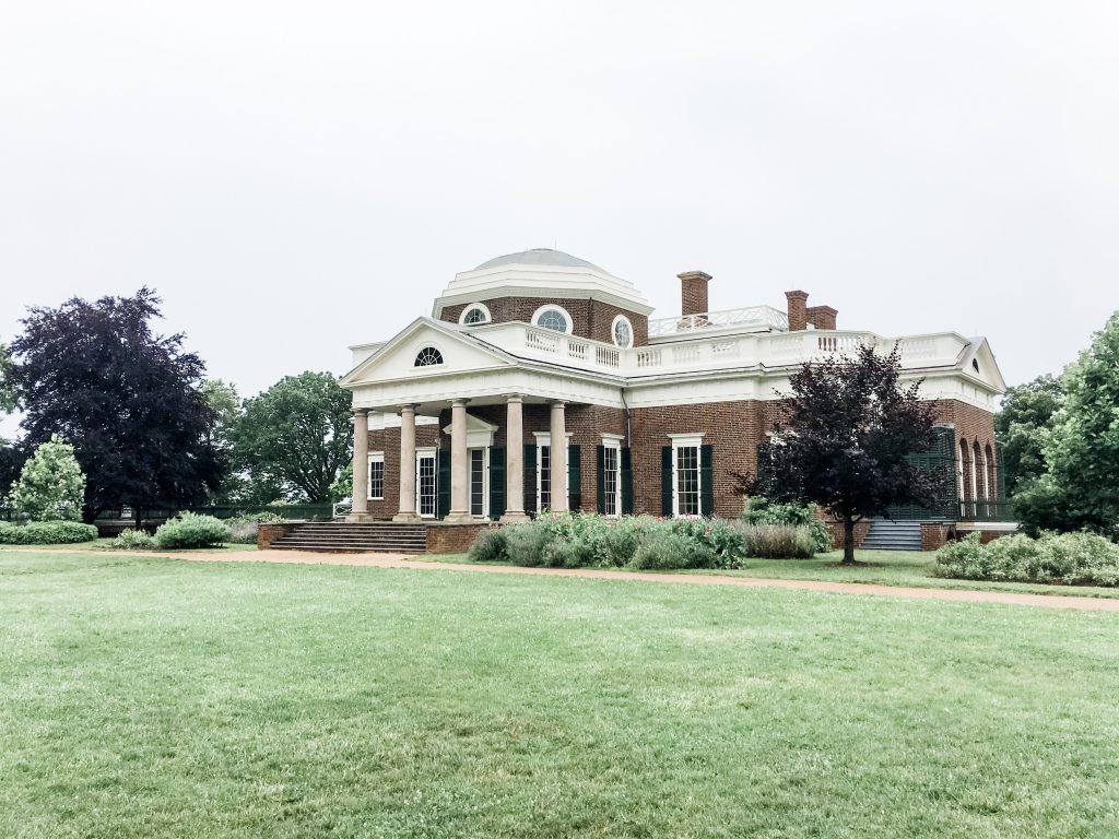 Back of Monticello