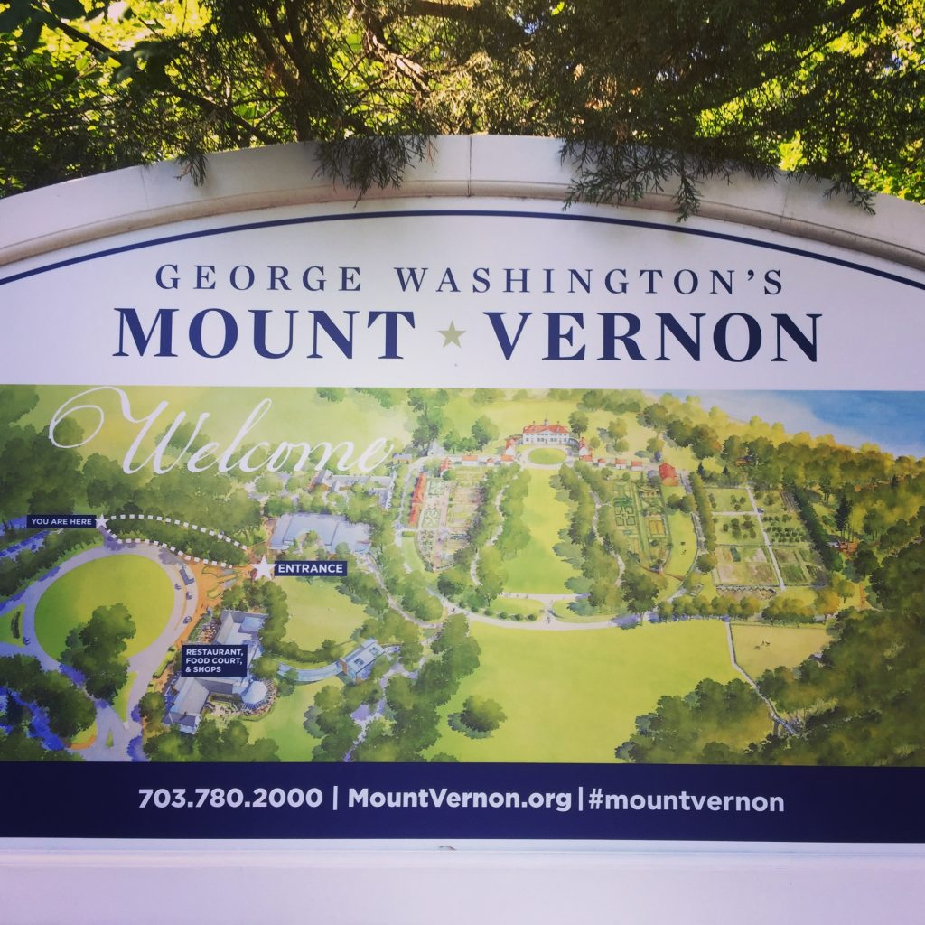 Welcome to Mount Vernon Sign