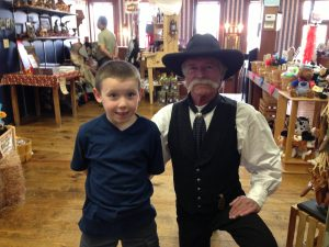 Hanging out with a Dodge City Lawman