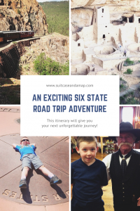 An exciting Six State Road Trip Adventure