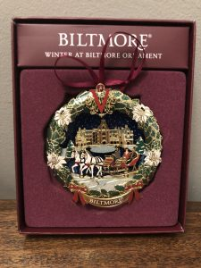 Biltmore Estate Christmas Ornament