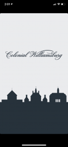 Colonial Williamsburg App