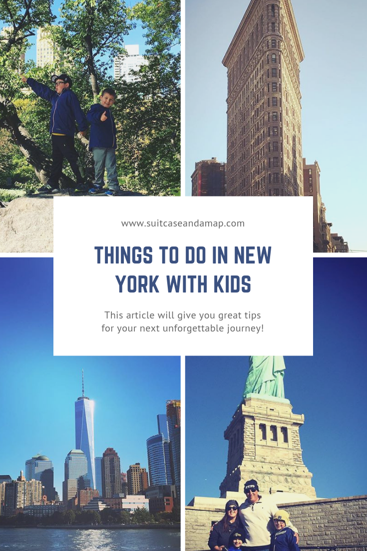 A great, fun list of things to do in New York City with kids! #nyc #newyork #nycwithkids #familytravel #travel