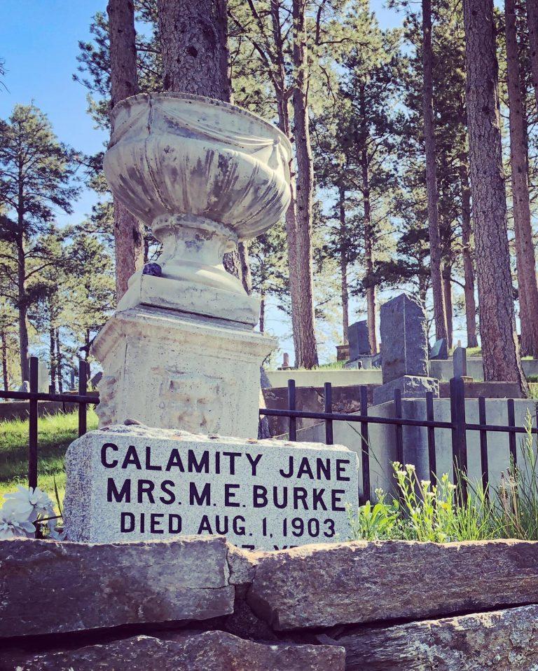Calamity Jane's grave
