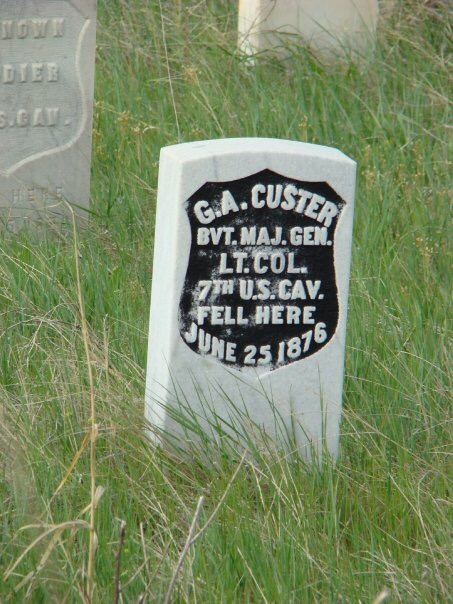 Custer's Grave