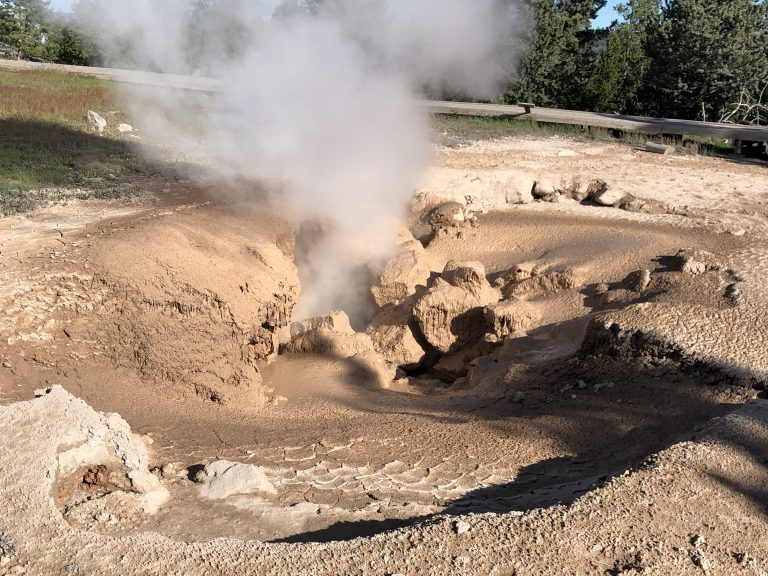 Mud Pot at Yellowstone