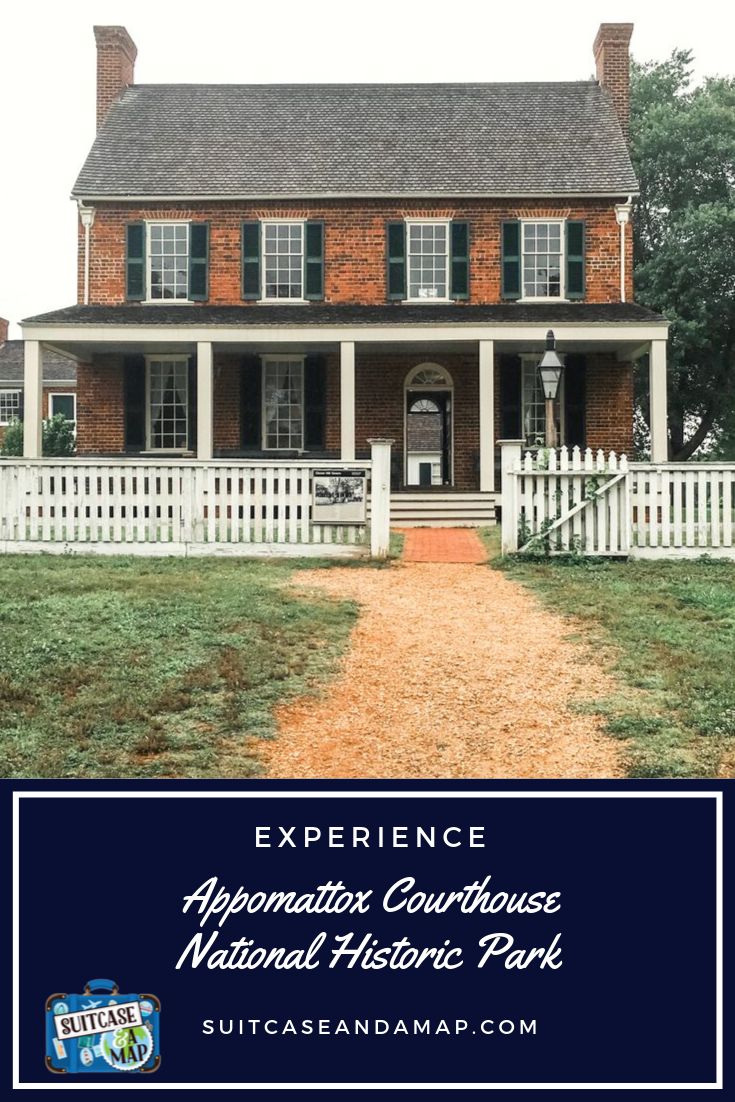 Visit Appomattox Courthouse National Park in Virginia to walk in history's footsteps! See where Generals Lee & Grant met in McLean house and more #virginia #history #civilwar