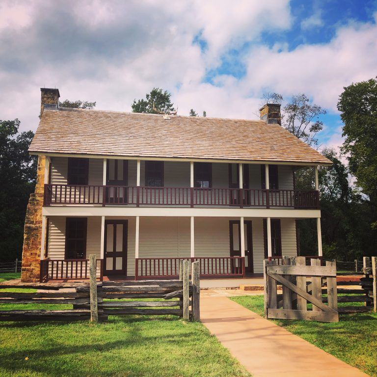 Elkhorn Tavern in pea ridge national military park