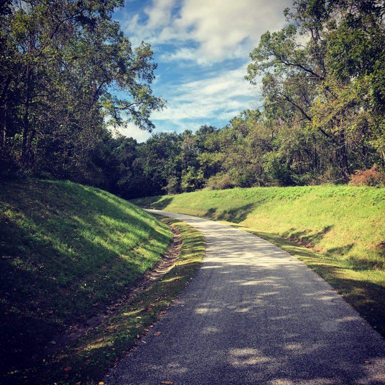 road in pea ridge national military park
