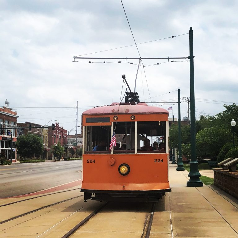 Fort Smith trolley car