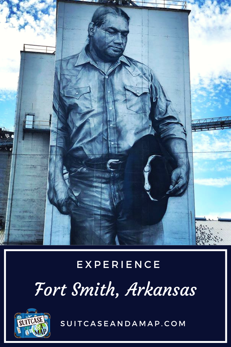 Visit Fort Smith, Arkansas and discover great places to visit, eat and enjoy! Read to find out why Fort Smith should be added to your travel list. #fortsmith #arkansas #wildwest