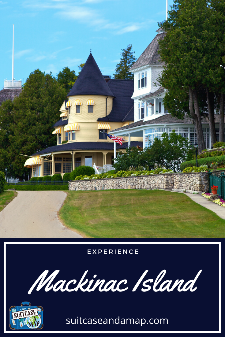 Discover the amazing beauty of Mackinac Island,Michigan! Find out things to do, where to stay and where to eat. #mackinacisland #michigan #familytravel #upperpeninsula