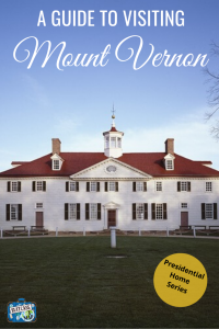 Visiting George Washington's Mount Vernon