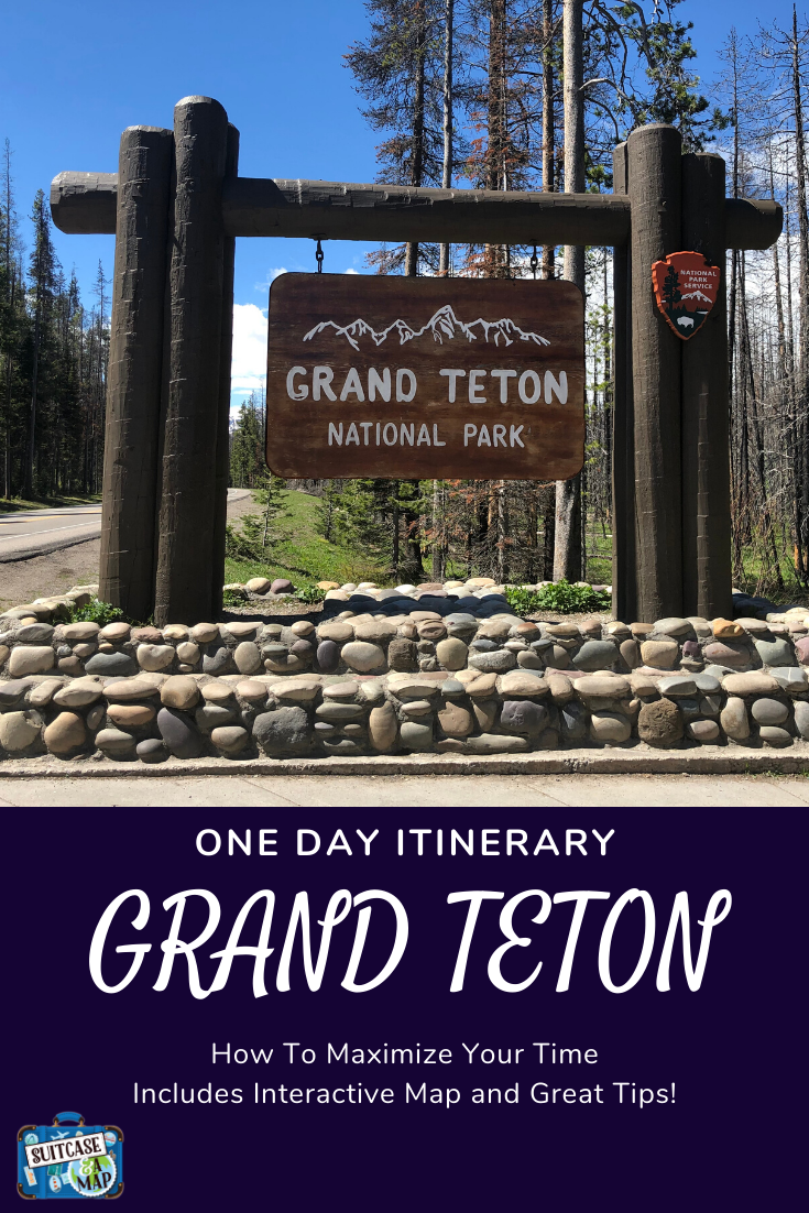 Welcome to Grand Teton National Park Sign