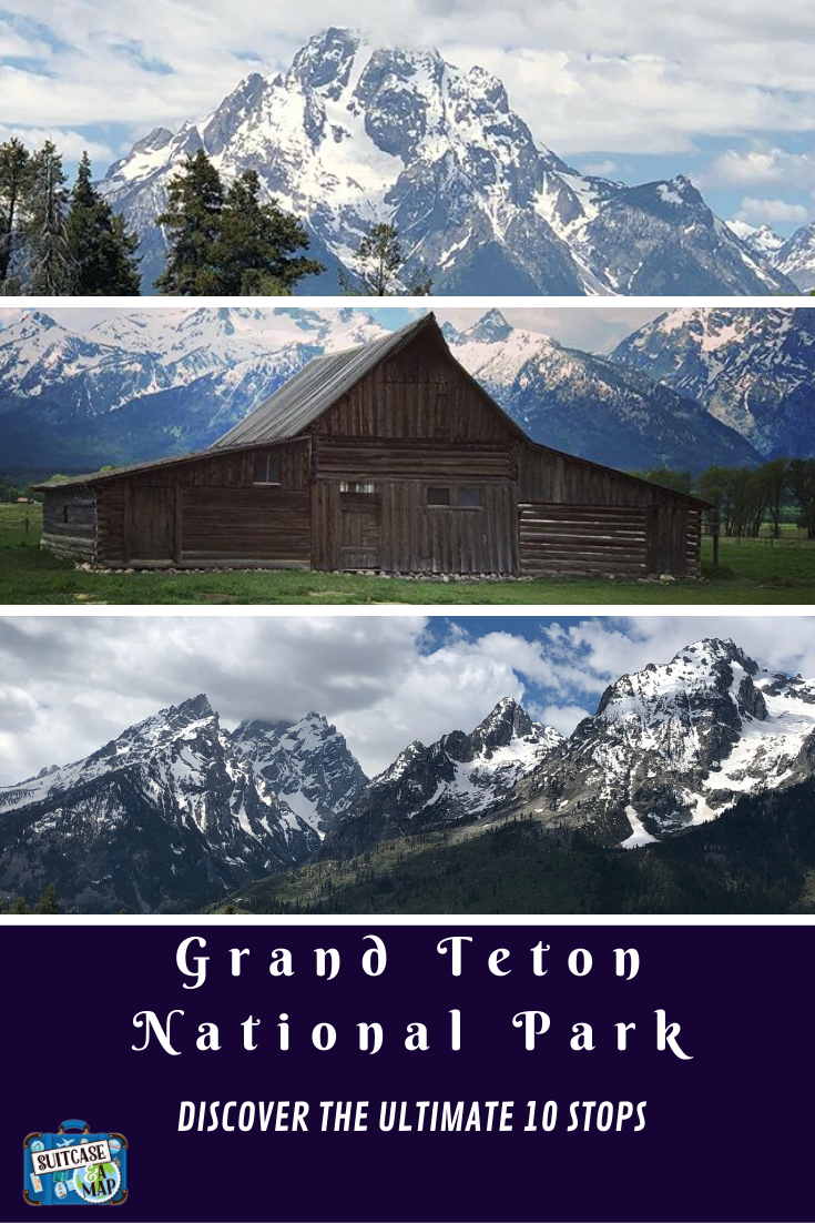 Moulton barn, oxbow bend, three sisters at Grand Teton National Park