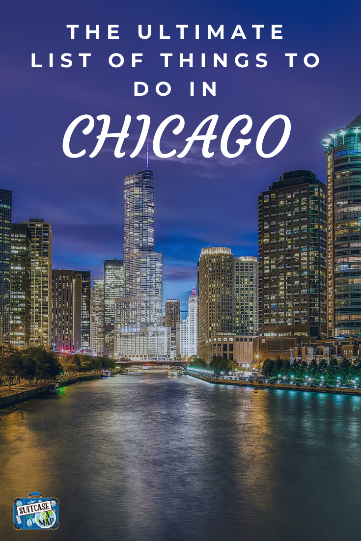 The Ultimate List of things to do, where to stay and what to eat! Chicago is an amazing city and with our guide we know you'll have an amazing time! #chicago #chicagowithkids #travelwithkids #seeitall