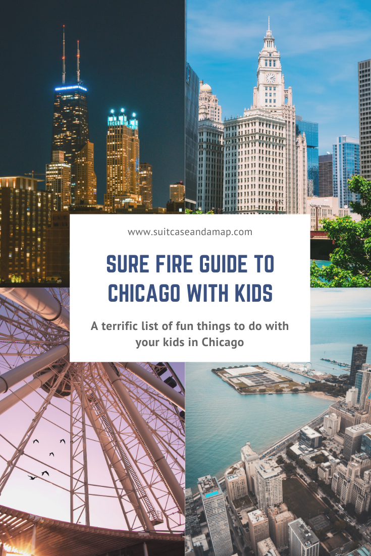 Looking for the perfect list of things to do in Chicago? We've created a sure fire guide so that you won't miss anything while you visit Chicago. #chicago #familyvacation #chicagowithkids
