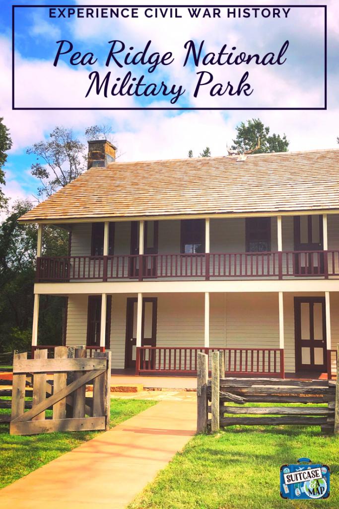 Elkhorn Tavern at Pea Ridge National Military Park