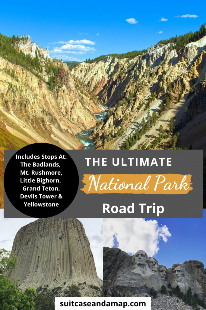 Are you ready for the Ultimate road trip?! You'll have an amazing time seeing some of America's most beautiful National Parks & Monuments! Includes interactive map and a TON of tips and suggestions #roadtrip #nationalparks #familyvacation