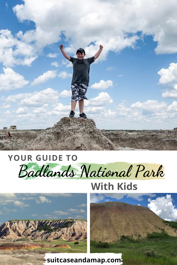 Are you ready to visit Badlands National Park? We've created the ONLY guide you'll need to visit one of the coolest National Parks. Includes interactive map & TONS of tips and hints. #badlandsnationalpark #nationalpark #familyguide #southdakota