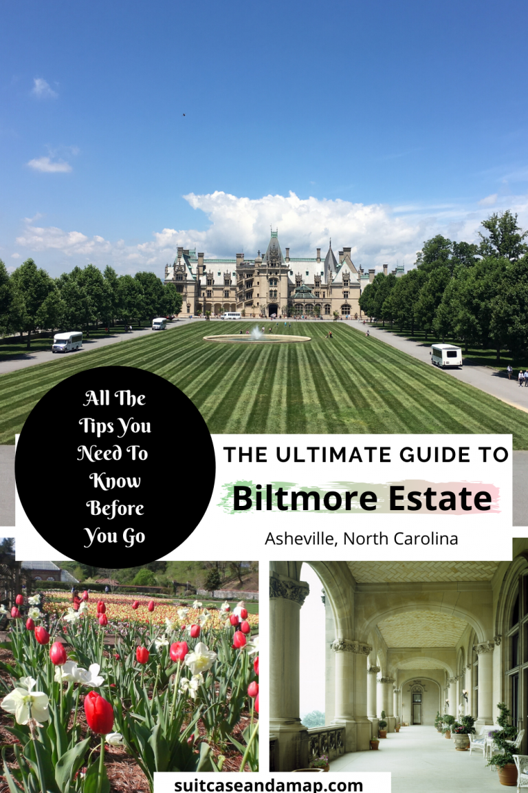 Ready to visit America's largest home? Biltmore Estate is a fantastic getaway destination & we have all the tips you need to know before you visit Biltmore. Discover the gardens, the winery, the villages, activities and, of course, the tour of the estate! #biltmore #asheville #biltmorestate