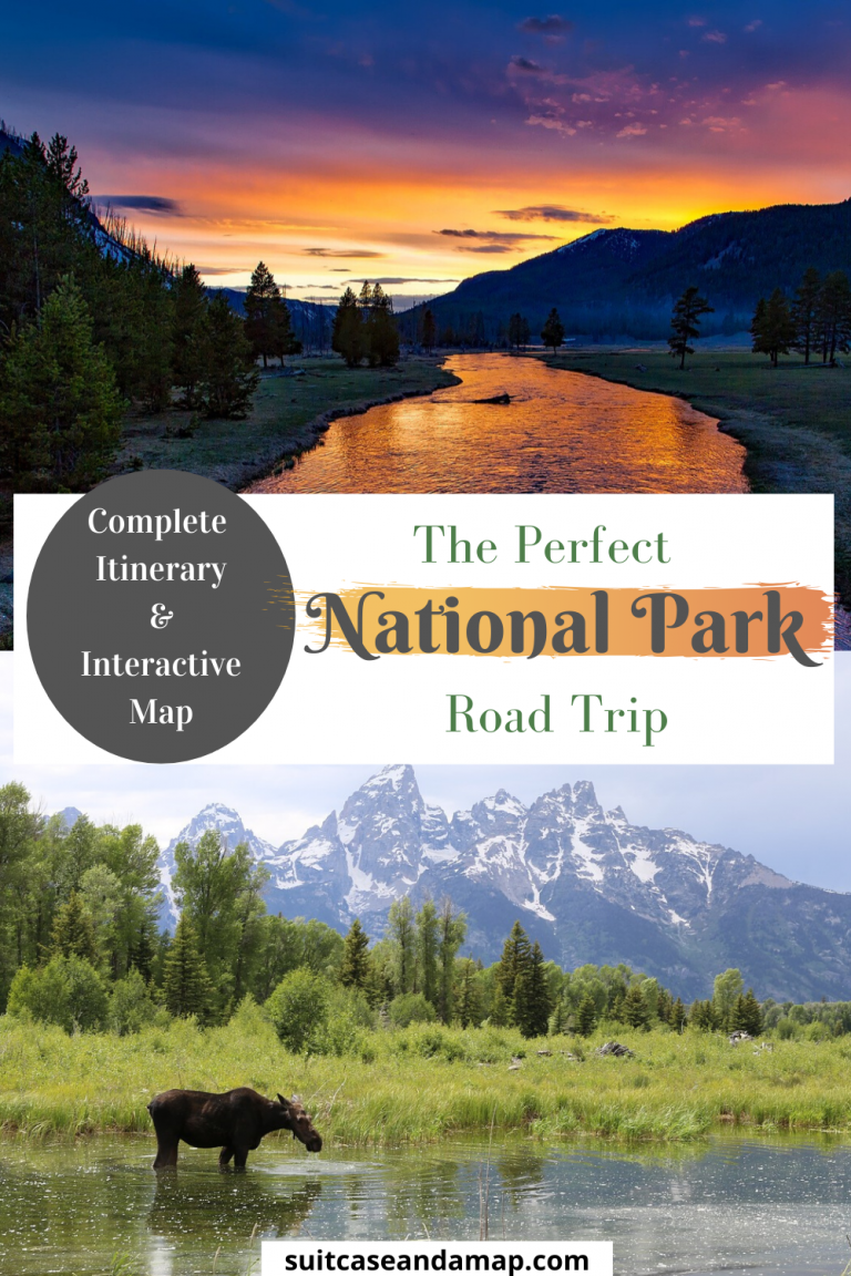 A National Park road trip is one of the most beautiful road trips you can take! This road trip to some of America's best National Parks will leave you with incredible memories forever. We included an interactive map and complete itinerary. Where to stay by each National Park & Monument, where to eat and tons of tips & each for each National Park. Get ready for the the ultimate road trip! #roadtrip #nationalpark #familyroadtrip