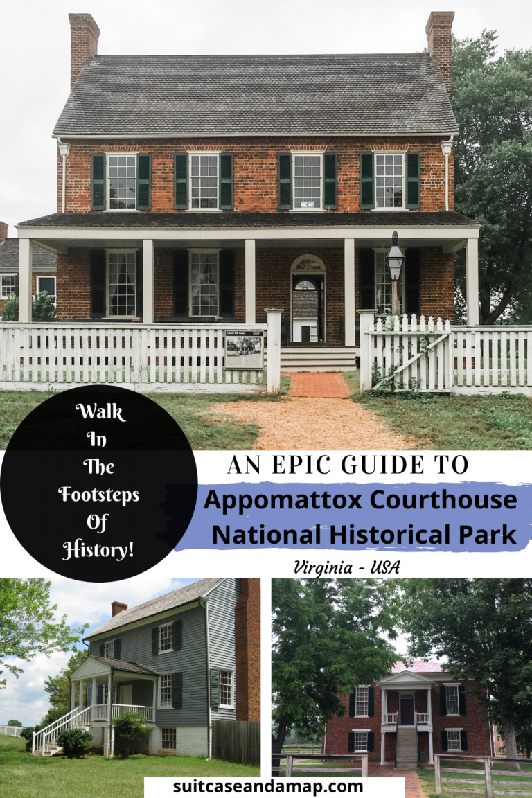 Walk in the footsteps of history at Appomattox Courthouse in Virginia & See where General Lee surrendered. It's a fascinating look in history and the Junior Ranger program is so much fun! #virginia #appomattox #roadtrip