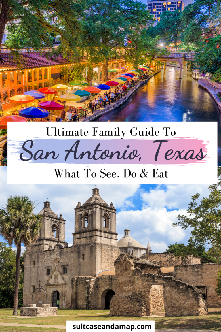 San Antonio, Texas is such a perfect place for a family getaway. There are a TON of things to do and you don't want to miss any of them. We've created a fun list of things to do in San Antonio with kids, where to eat in San Antonio and where to stay in San Antonio. We also included an interactive map! #sanantonio #texas #thealamo