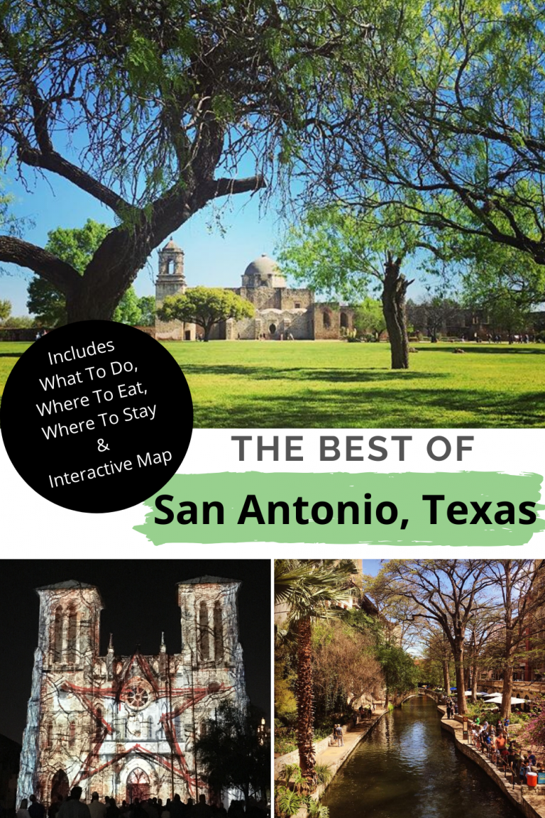We have THE BEST guide to visiting San Antonio, Texas and have you covered with where to eat, where to stay and all the fun things to do in San Antonio, Texas. #texas #travelguide #sanantonio