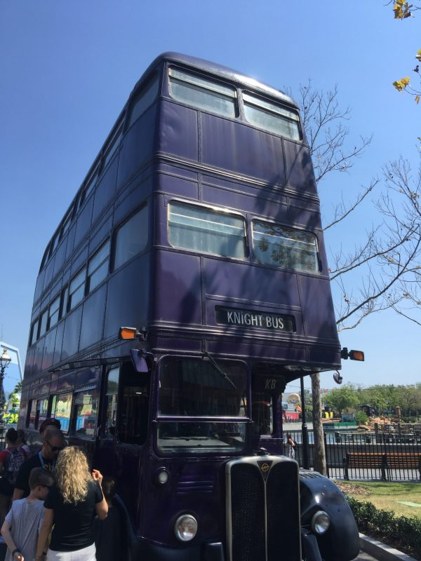 Knight Bus At Universal Studios Orlando