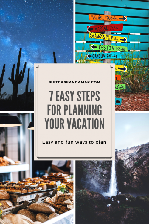 Are you wondering how to start planning for a vacation?  enjoy planning for vacation almost as much as the vacation itself! 🚗 ✈️No matter where you're going or your budget, here's a helpful list of ways to plan for your next vacation. #vacation #planning